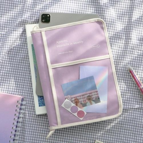 아이코닉 태블릿 북파우치 (11 에어4 갤럭시탭)