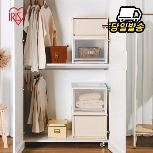 아이리스 수비르 플라스틱 틈새 옷 서랍장 1단 대형M_(1881011)