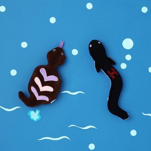 [PetToy]Squeaky Eel(뱀장어)찍찍삑삑