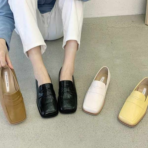 kami et muse Square toe fancy loafers_KM20w326