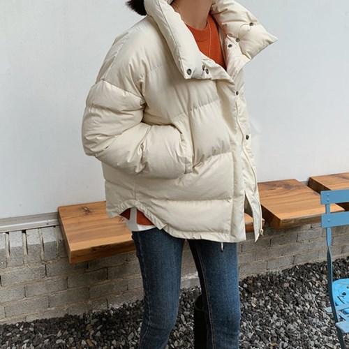 겟잇미 겨울 하이넥 데일리 패딩점퍼