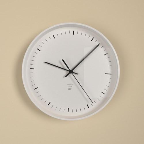 플랫오디너리 심플라인 무소음벽시계