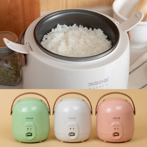 키친아트 1인밥솥 이유식 전기밥통 보온 미니 자취선물_(588458)