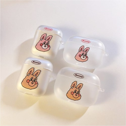 BUNNY AIRPODCASE TRANSLUCENT(1/2/PRO)