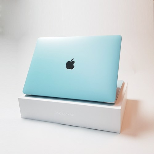 D 맥북 Air 13형 A1466 컬러 디자인 노트북 스킨 외부 보호 필름
