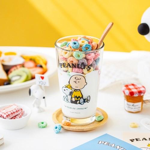 [Peanuts] 프렌즈 유리컵