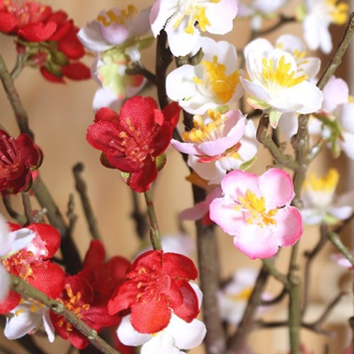 매화꽃 나무가지 조화(3color)_(2158218)