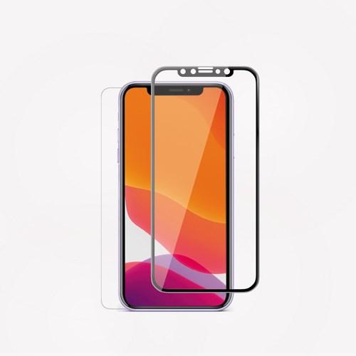 에이튠 아이폰11 풀커버 강화유리(후면필름증정, 아이폰Xr 호환)