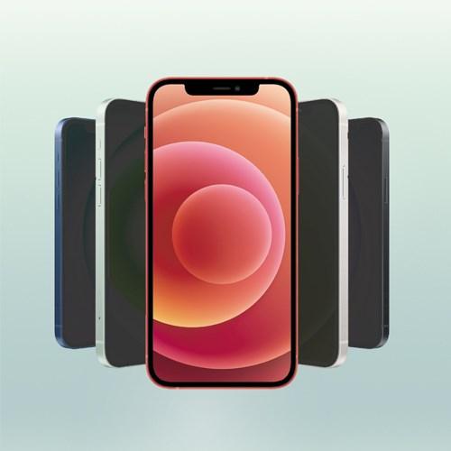 에이튠 아이폰 12 미니 프라이버시 사생활보호 풀커버 강화유리