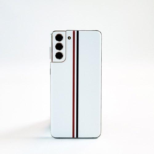 디슈트 라인 백커버 디자인 스킨 갤럭시S21 전신보호필름