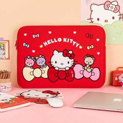 [Sanrio] 헬로키티 15인치 노트북 파우치