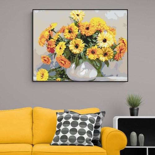풍성한 꽃들 DIY명화그리기 유화그리기세트_(2560242)