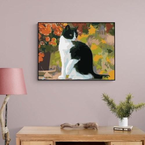 도도한 고양이 한마리 DIY명화그리기 유화그리기세트_(2560237)
