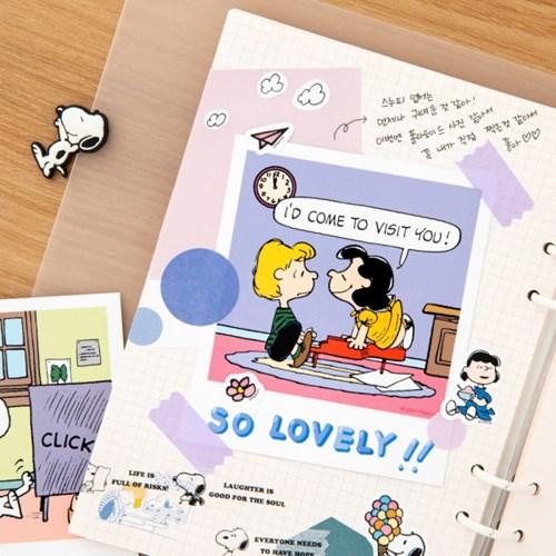 [Peanuts] 폴라로이드 엽서_ 투게더 (6종)