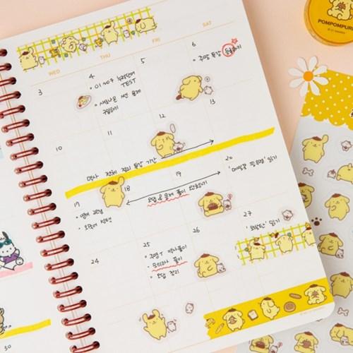 [Sanrio] 폼폼푸린 투명스티커