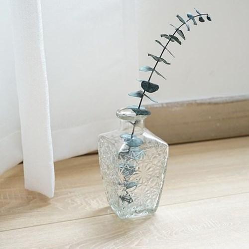 대형 유리화병 엔틱 꽃병