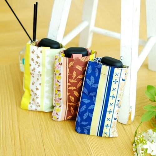wpc우산 패턴 스트라이프 미니 5단 양산 겸 우산 3202-261