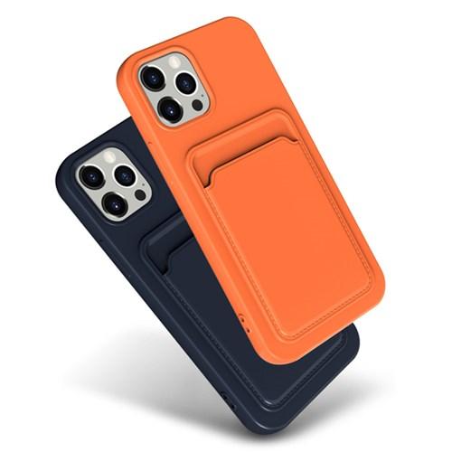워너프 파스텔 카드 포켓 커버 휴대폰 케이스