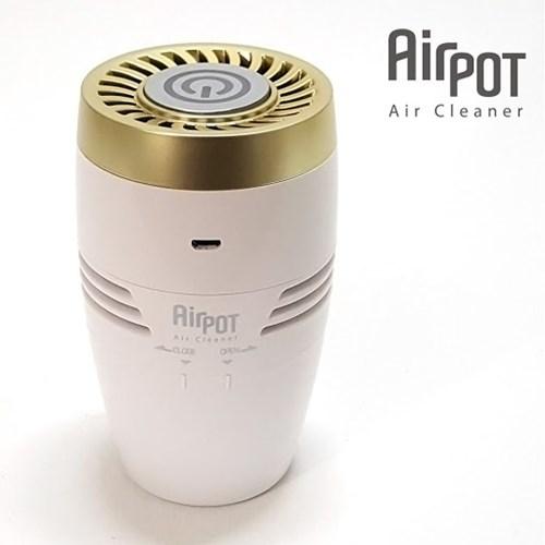에어팟 포터블 공기청정기 (차량 원룸 공부방 아이방)