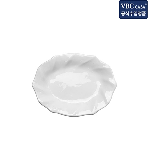 VBC까사 인칸토 오벌플레이트(S) 러플 14cm