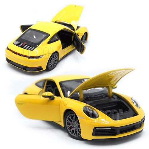 1:24 웰리 포르쉐 911 카레라 4S 다이캐스트