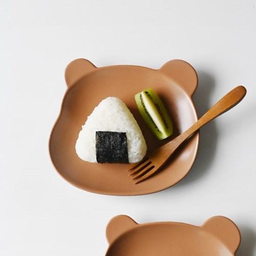 귀여운 곰곰이 도자기 접시 3color_(1945074)