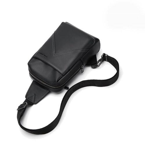 바이슨데님 남자 수제 가죽 슬링백 크로스백 백팩 가방 N20156-1B