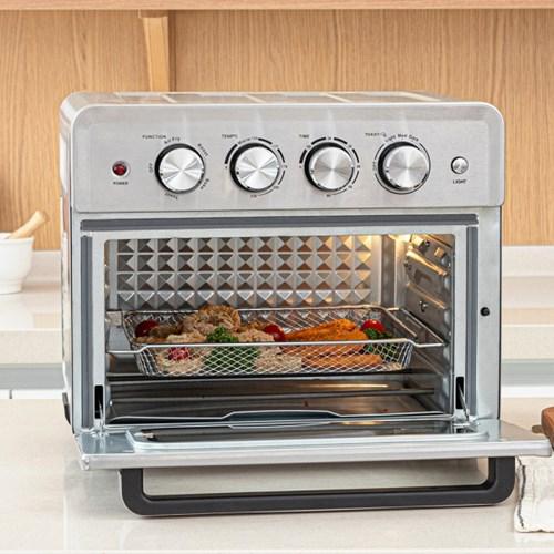 제벤 오븐형 에어프라이어 25L 대용량 튀김기