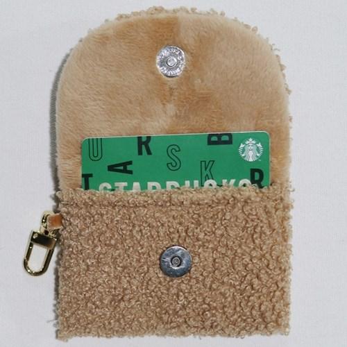 [반딜]베베베어 곰돌이 미니파우치 카드지갑 에어팟 버즈파우치