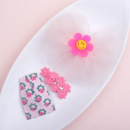메르시밴드 베리굿 하프 선물세트 3P (핑크)