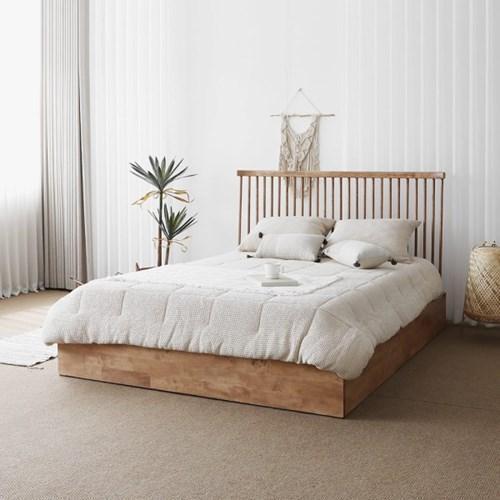 [블랙러버] T형 침대 서랍수납형 SK/EK/LK