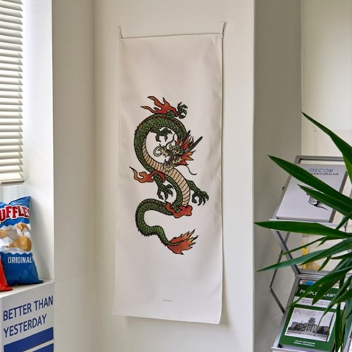 Oriental A 세로형 패브릭 포스터 / 바란스커튼