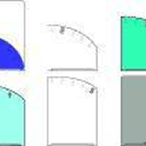 5 Pocket Clear Folder A4 - Pocket Purple