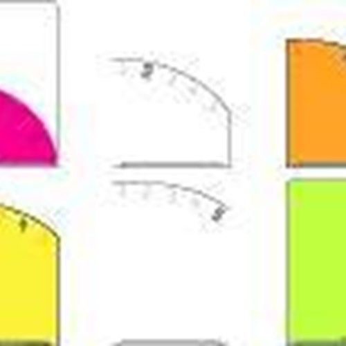 5 Pocket Clear Folder A4 - Pocket Pink