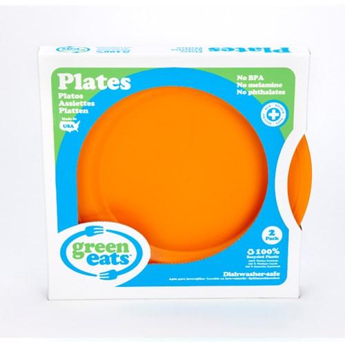[그린이츠] 플레이트세트2P(오렌지) PLTO-1547