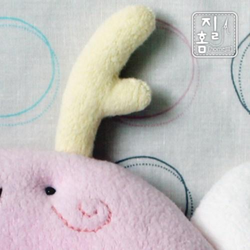 [DIY]핑크드레곤 짱구베개 만들기