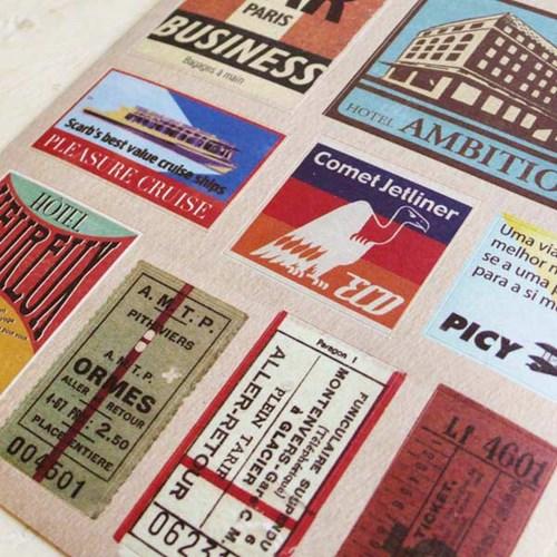 Vintage Travel Sticker