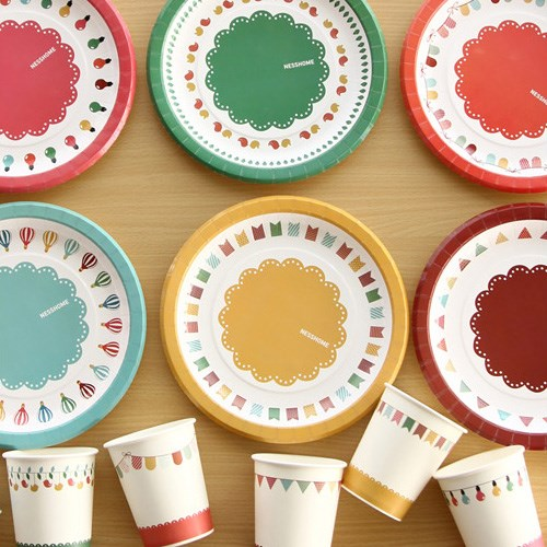 Paper Plate Special party_6종1세트
