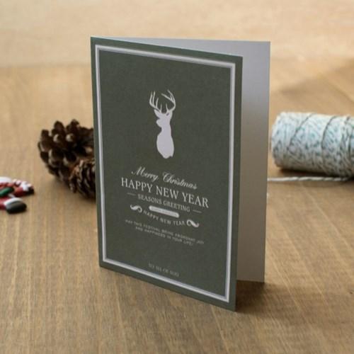 디비디 크리스마스 카드세트 - Rudolph 6종