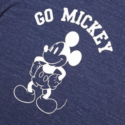 [화이트 블랭크]GO MICKEY SLUB SS SHIRTS(BLUE)