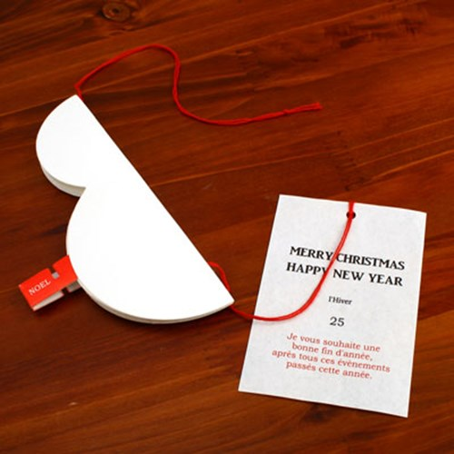 christmas card_snow man