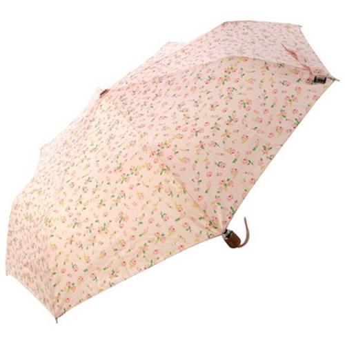 [VOGUE] 보그 3단 자동 우산(양산겸용) - 소녀에게 (핑크)