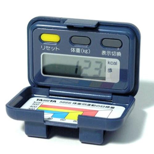 타니타(TANITA) 디지털 만보기 (만보계)  NO.5666