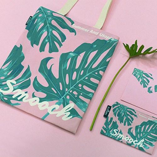 [스무치] Summer Leaf Wave Ecobag