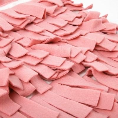 강아지 노즈워크 펫멍 킁킁담요 - pink