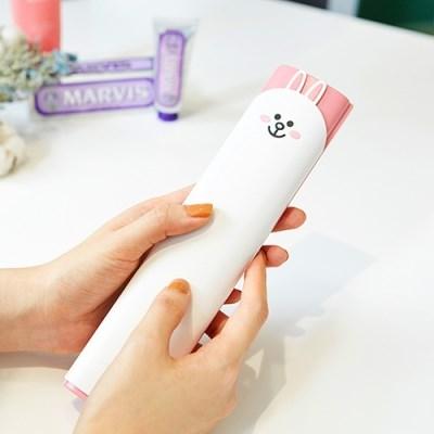 라인프렌즈 LED UV 휴대용 충전식 칫솔살균기