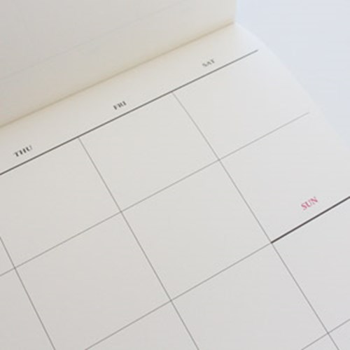 Weekly Planner-주간계획표