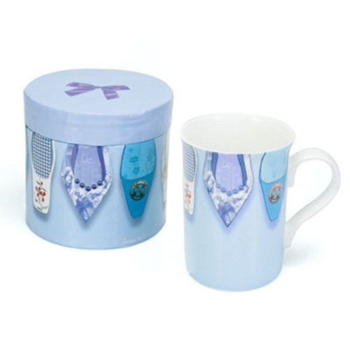 FRENCH BLUE SLIPPERS - SINGLE MUG