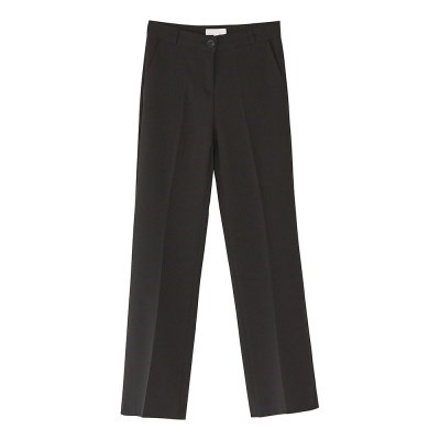 always slim boots-cut slacks