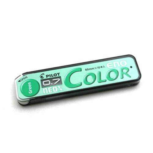 파일롯 컬러 에노 샤프 0.7mm-그린